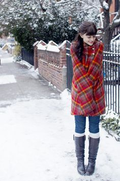 Cozy Caplet for Winter