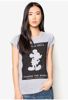 Mango Mickey Print T-Shirt #onlineshop #onlineshopping #lazadaphilippines #lazada #zaloraphilippines #zalora