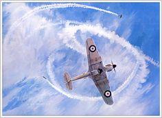 Keith Ferris: 23 тыс изображений найдено в Яндекс.Картинках Hawker Hurricane, Battle Of Britain, Royal Air Force, Aviation Art, Luftwaffe, Military History, Military Aircraft, Wwii, Planes