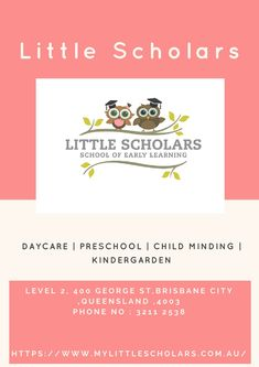 Welcome to our Little Scholars School of Early Learning website. My last 18 years of hands on experience in the Early Childhood and Education sector has allowed me to create something special, Little Scholars School of Early Learning. Learning Centers, Early Learning, Childcare, Early Childhood, Preschool, Hands, Education, Website, Create