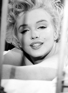 Marilyn photographed on the set of Bus Stop by Milton Greene in 1956.