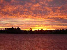 Peterborough, Canada: Sunset On Little Lake