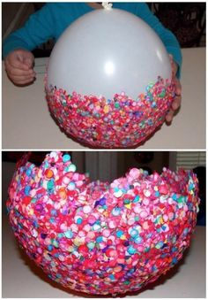 Pop The Balloon   Balloon Bowl: A Kids Craft To Try This Week