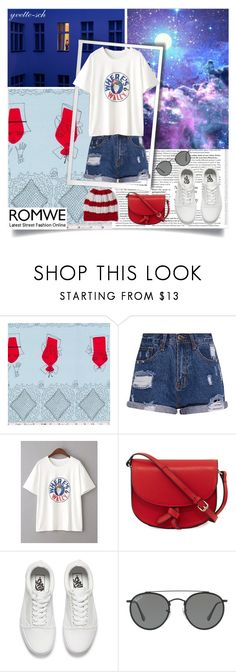 """""""Wally"""" by yvette-sch ❤ liked on Polyvore featuring KC Jagger, Vans, Ray-Ban and Slater Zorn"""