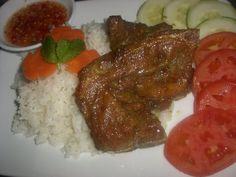 VietFun For All - Thịt Nướng by bach1028 Vietnamese Pork, Vietnamese Recipes, Grains, Rice, Chicken, Meat, Food, Essen, Yemek