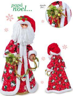 Moldes o patrones para elaborar hermosos muñecos navideños ALBUM 219 WhatSapp +584124278063