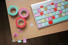 20 Ways to Decorate Your Tech with Removable Washi Tape | Apartment Therapy