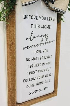 Home Crafts, Home Projects, Diy Home Decor, Projects To Try, Diy Crafts, Diy Signs, Home Signs, Home Wooden Signs, First Home