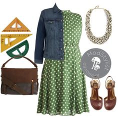 Casual Friday Work Wear ... #modcloth #ad *love