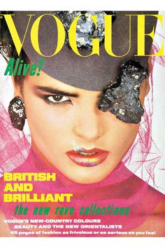 Fashion Magazine Covers - Online Archive for Women (Vogue.com UK) AUGUST 1984