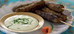Kebabspett av bland- eller lammfärs och Garam Masala Garam Masala, Santa Maria, Pork, Dessert, Chicken, Meat, Cilantro, Kale Stir Fry, Deserts