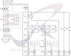 wiring diagram for forward reverse single phase motor warn 2000 lb atv winch 3 ac control star delta inversion automatica de trifasico disseny producte