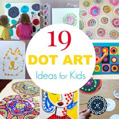 19 Dot Art Ideas for