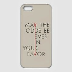 Hunger Games quote iPhone 5 case