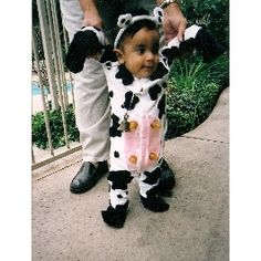 cow costume with some attitude halloween images pinterest costumes cow and cow costumes - Baby Cow Costume Halloween