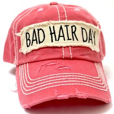 Hat Patches, Wearing A Hat, Embroidery Patches, Bad Hair Day, Caps For Women, Caps Hats, Women's Hats, Hats For Men, Fashion Hats