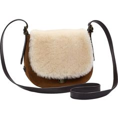 UGG Heritage Crossbody Bag ($195) ❤ liked on Polyvore featuring bags, handbags, shoulder bags, cross-body handbag, crossbody purses, ugg, ugg handbags and crossbody shoulder bags