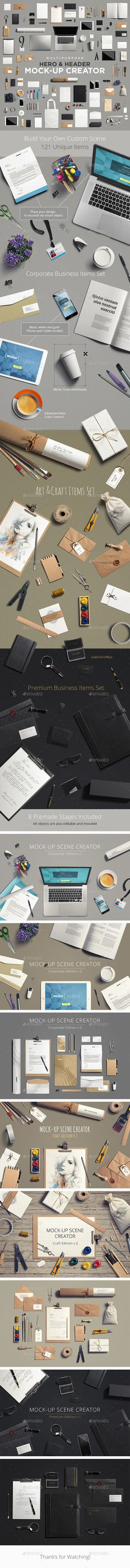Multipurpose Mock-Up Creator (Stationery)
