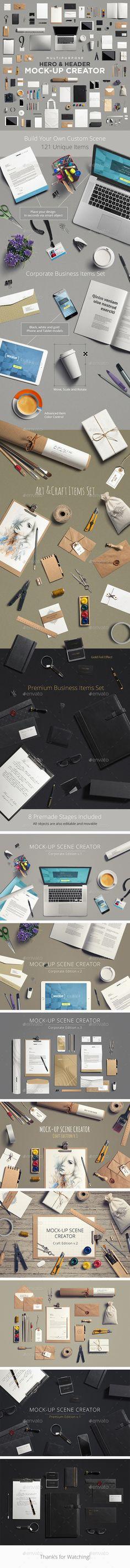 Multipurpose Mock-Up Creator (Stationery)