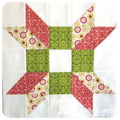 A hug quilt block for a very dear friend.