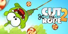 Cut the Rope 2 ya está aquí! Uno de los juegos más adictivos que hay puedes instalar ahora mismo en tu smartphone!   Android: http://cut-the-rope.malavida.com/android/