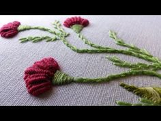 This video channel contains lot of Hand Embroidery work designs & paper craft designs.Today we know the simple & easiest hand Embroidery work is Brazilian Ro...