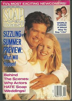 Soap Opera Digest June 11, 1991 Michael Damian and Lauralee Bell, Danny and Cricket, Young and Restless on the Cover.