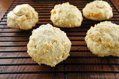 The easiest drop biscuits! Can be made paleo. #gluten-free