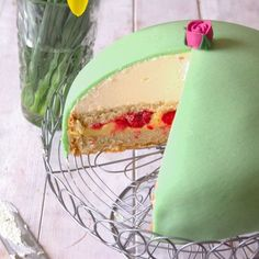 A princess cake (prinsesstårta in Swedish) is a traditional Swedish layer cake consisting of alternating layers of airy sponge cake, pastry cream, and a thick-domed layer of whipped cream.