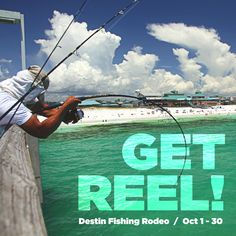 The Destin Fishing Rodeo is FREE to anglers who fish aboard boats registered in the Destin Fishing Rodeo. Vacation Places, Vacations, Destin Fishing, Charter Boat, Local Events, Florida Home, Boating, Rodeo, Places Ive Been