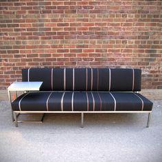 Pinstripe Sofa