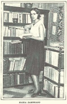 María Zambrano (1931). Famous People, Reading, Books, Writers, Madrid, Women, Jorge Luis Borges, Silver Age, Libros
