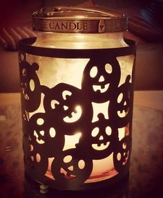 Probably too early but I couldn't resist  #halloween #yankeecandle #pumpkin #candle