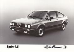 Alfa Romeo Sprint 1.5 (Geneva, 1983)