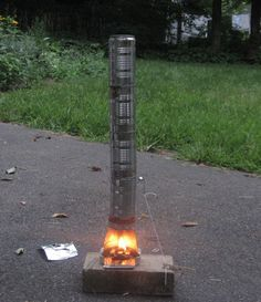 How to Build a Micro Sized Outdoor Fireplace from Recycled Materials via www.wikiHow.com