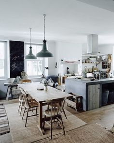 The cosy winter home of a photographer