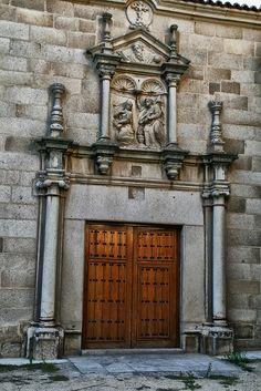 Capilla de Mosen Rubi, Portada Anunciacion ( Avila ) España
