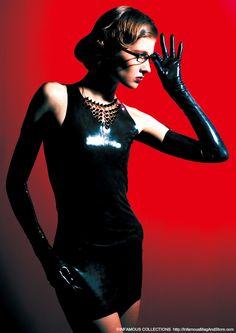 INFAMOUS MAGAZINE #05  Cover  Light weight mini dress / Kurage Shoulder glove / Kurage Studs necklace / allwise  Direction : Kenji Nagasawa Styling : NAO Photography : Takahiro Watanabe Hair & Make-up : Chiaki Hino Model : Sanja  http://InfamousMagAndStore.com