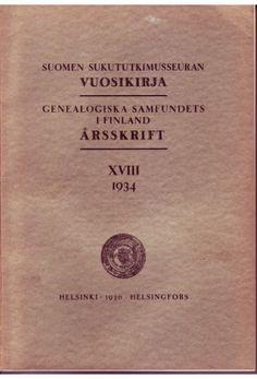 Vuosikirja XVIII