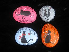 christmas cats by stone illustrations, via Flickr