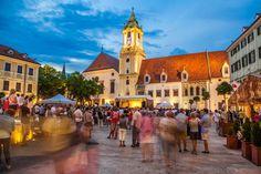 Casinha colorida: Se me chamar, eu vou: Bratislava, a capital da Eslováquia