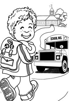 first day of school coloring pages grade. The first day at school is a milestone for parents and children. While you may experience a mixture of emotions try not to convey anxiety to your chil. School Coloring Pages, Online Coloring Pages, Color Activities, School Colors, Page 3, Coloring For Kids, First Day Of School, Coloring Sheets, Little Boys