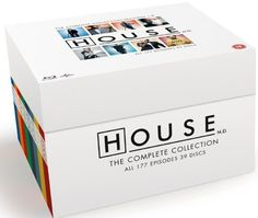 House: Complete Box - Season 1-8 (Blu-ray) (39 disc) (Import)