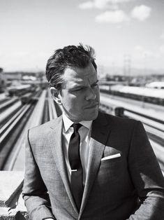 Ben Affleck, George Clooney, and Tina Fey Have Some Matt Damon Stories to Tell Gq Usa, Sebastian Kim, Jason Bourne, Matt Damon Bourne, Cover Boy, Tina Fey, Gq Magazine, Magazine Covers, George Clooney
