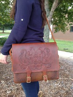 AWESOME custom, handmade gifts for men and women! From bags to Bible covers, this lady does it all!