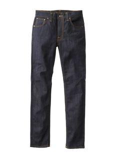 Thin Finn Dry Ecru Embo - Nudie Jeans