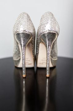silver heels | More here: http://mylusciouslife.com/photo-galleries/bling-fling/