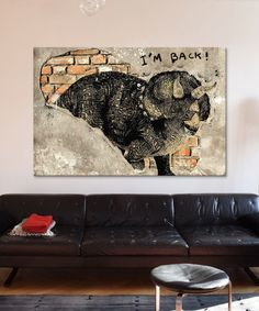 Look what I found on #zulily! Blast from the Past Gallery-Wrapped Canvas #zulilyfinds (DarkLord on iCanvas)