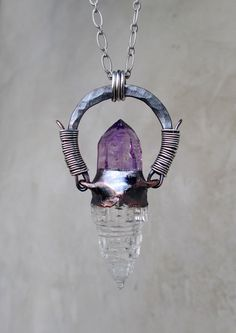 Mount Meru Sri Yantra Quartz Crystal with by SilviasCreations, $169.00