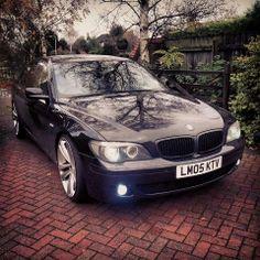 BMW E65 7 series black